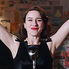 Mrs. Maisel at her Best [Oil Paint Rendering] by #PoptART products from Poptart.me
