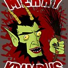 Merry Krampus! by Frank Pena