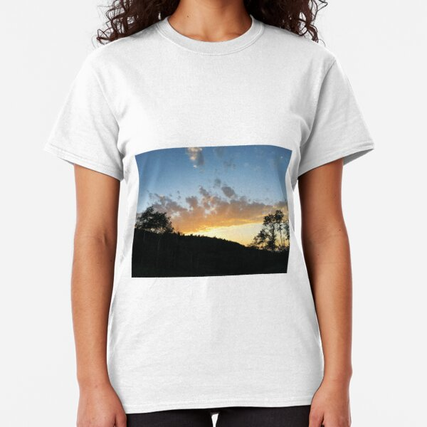 Forest Sunset by Jerald Simon (Music Motivation) Classic T-Shirt