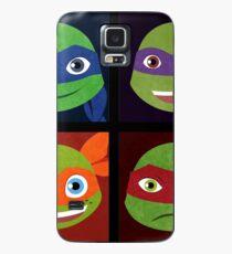 Funda/vinilo para Samsung Galaxy Turtle Bunch