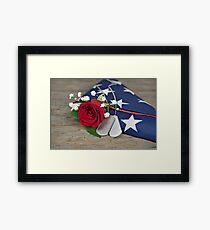 Military Honor Framed Print