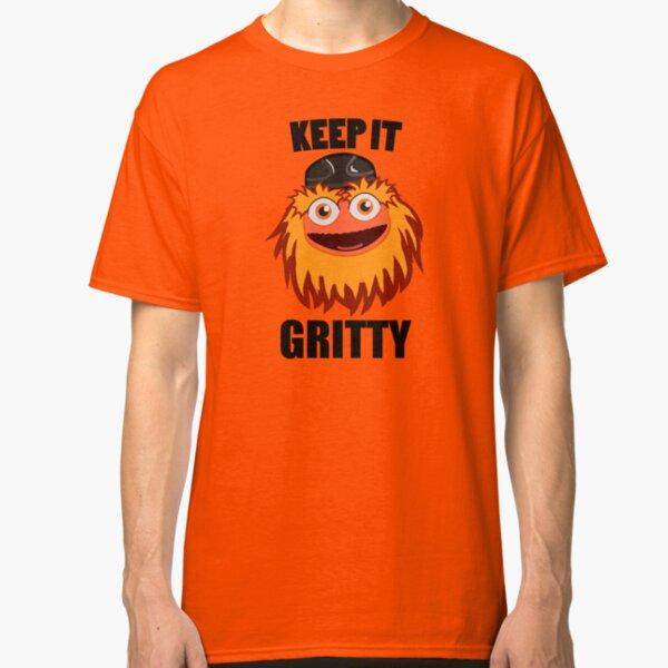 Keep It Gritty Hockey Mascot Classic T-Shirt