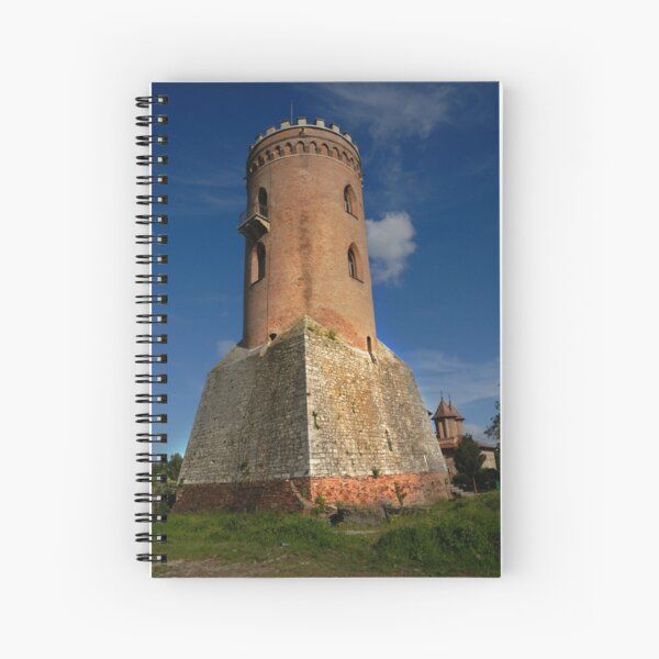Tower of Dracula castle, Targoviste, Romania Spiral Notebook