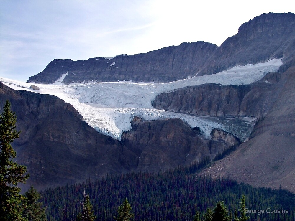 Crowfoot Glacier by George Cousins