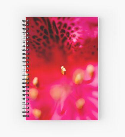 Rhododendron detail Spiral Notebook