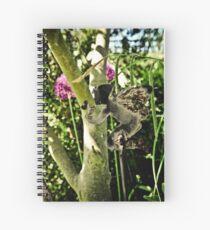 Fairies in the garden Spiral Notebook