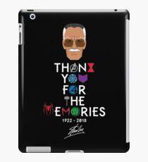 Vinilo o funda para iPad Camiseta Stan Lee Memories