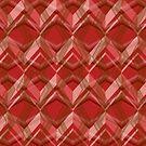 Red Seamless Pattern Art Design  by elangkarosingo