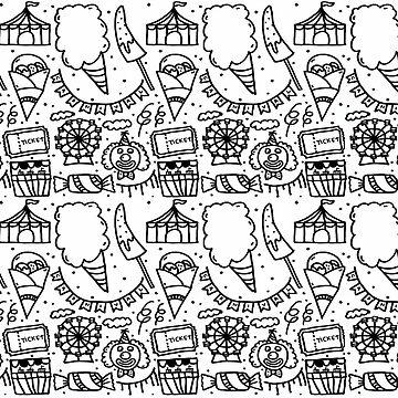 Monochrome Series - Carnival by nadiairianto
