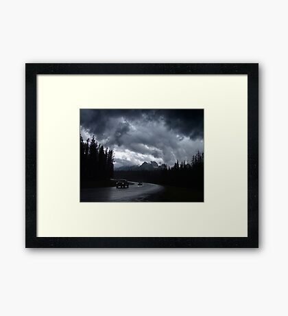 Kootenay Crossing(2) Framed Print