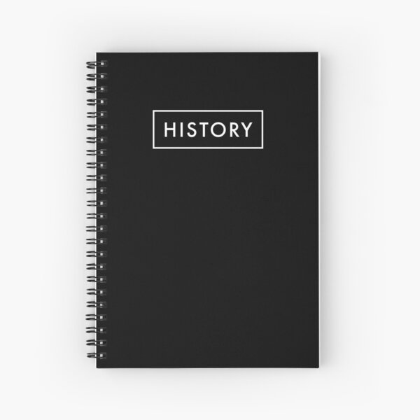 History Spiral Notebook
