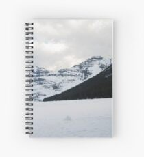 Lake of Ice Spiral Notebook
