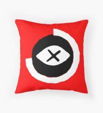 Dead eye Throw Pillow