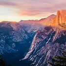 Half Dome at Sunset by Kara Rountree