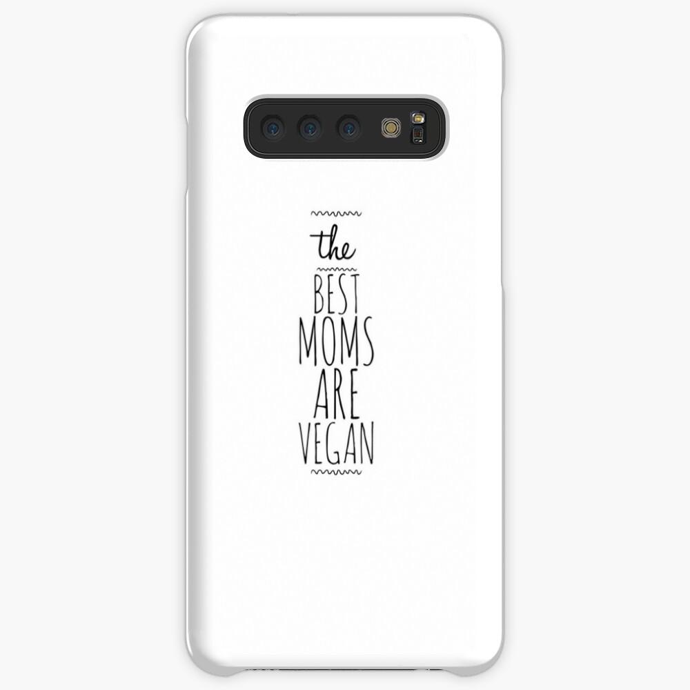 My Vegan Mom Funny Gift Idea Funda y vinilo para Samsung Galaxy