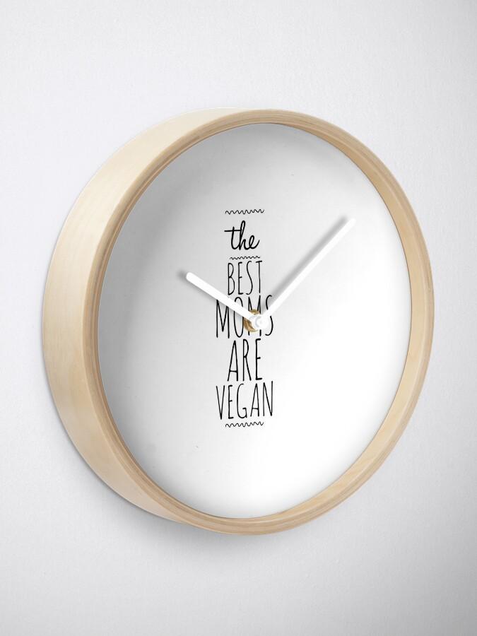 Vista alternativa de Reloj My Vegan Mom Funny Gift Idea