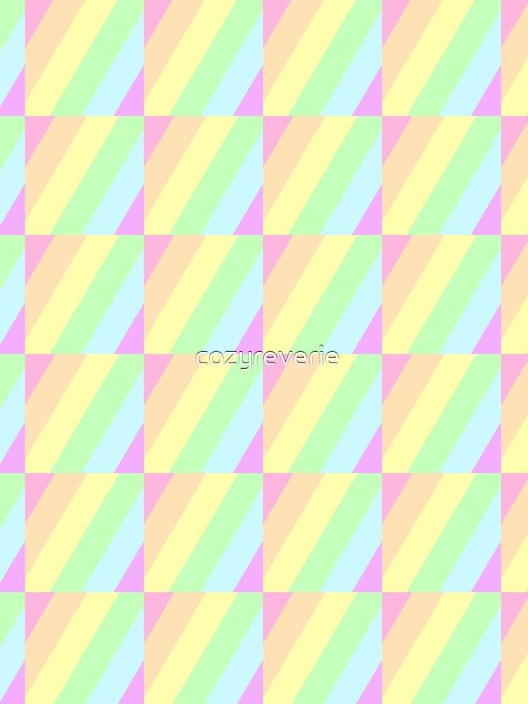 Pastel Stripes by cozyreverie