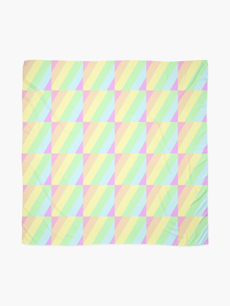 Alternate view of Pastel Stripes Scarf
