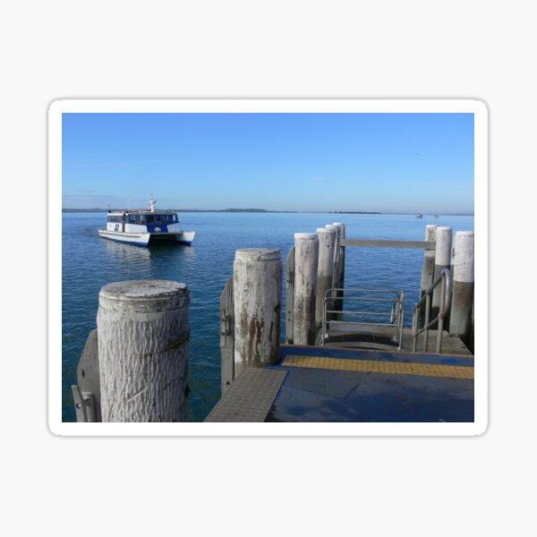 Ferry to Coochie Sticker