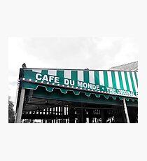 Cafe du Monde Photographic Print