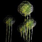Abstrakte Frühlingsblumenbäume von Van Nhan Ngo