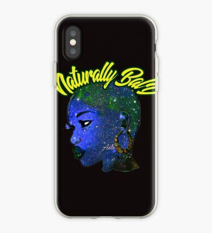Afrocentric natürlich kahle & mutige afrikanische Frauenkönigin iPhone-Hülle & Cover