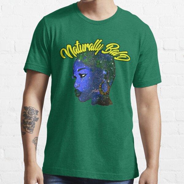 Afrocentric Naturally Bald & Bold African Women Queen Essential T-Shirt