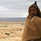 On the road to Tataouine (Tunisia) - World's people by Thierry Beauvir