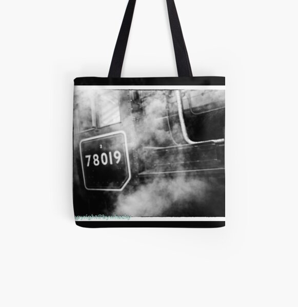78019 gets steamed up All Over Print Tote Bag