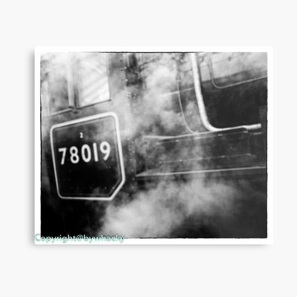78019 gets steamed up Metal Print