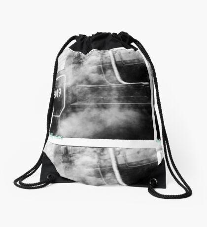 78019 gets steamed up Drawstring Bag