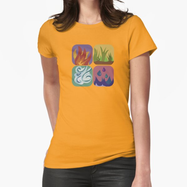 elements, once again Fitted T-Shirt