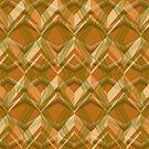 Line Brown Pattern  by elangkarosingo