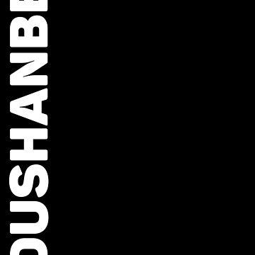 Dushanbe by designkitsch