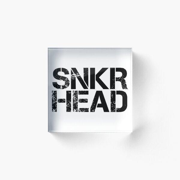 Sneakerhead  Acrylic Block