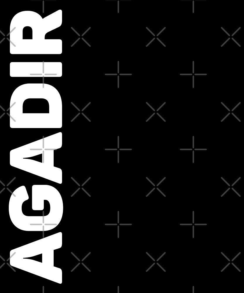 Agadir T-Shirt by designkitsch