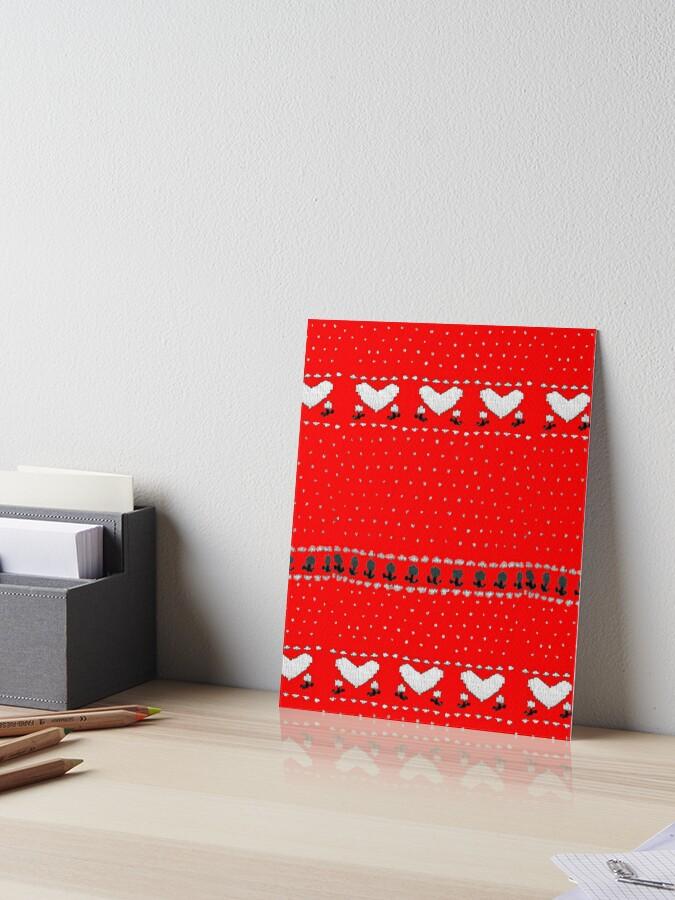 80s Ellen Griswold Christmas Sweater Art Board Print By Tmiranda85 Redbubble
