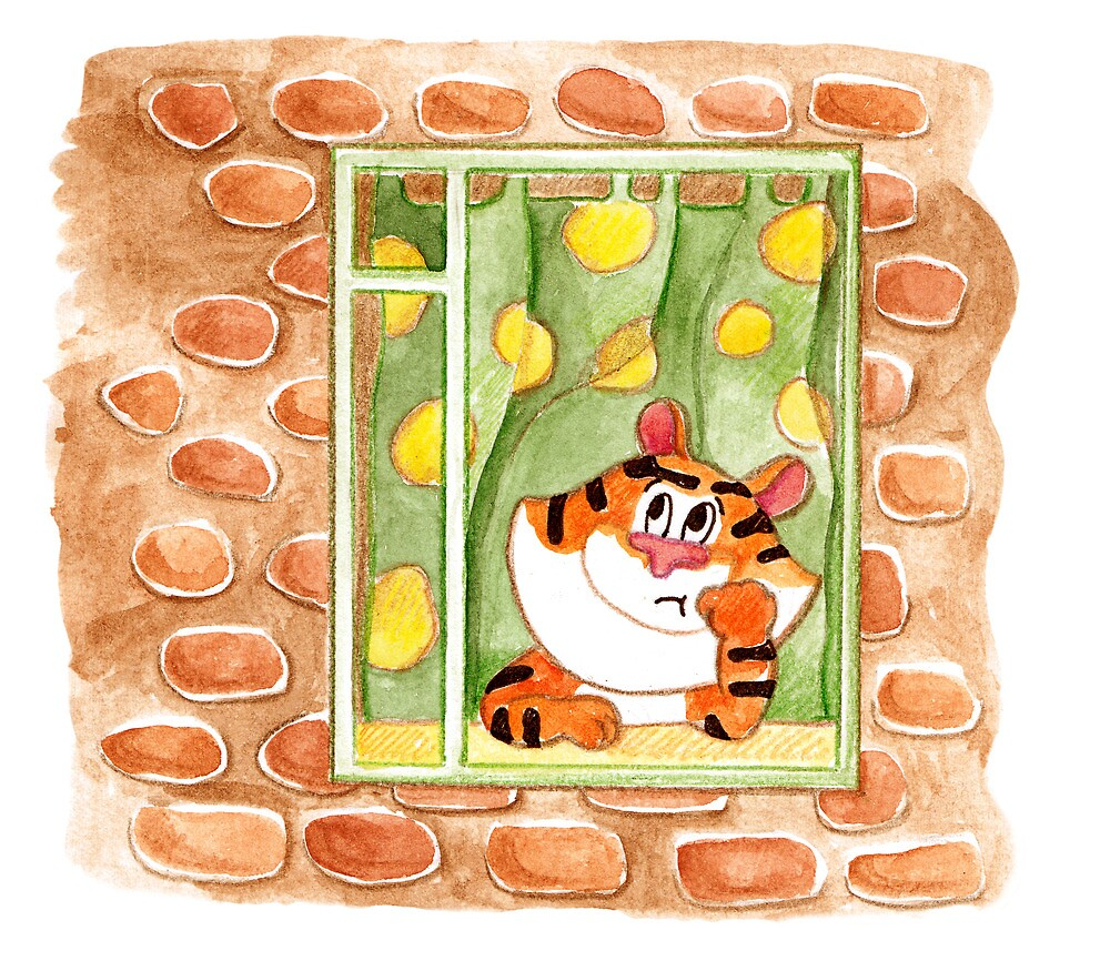November Tiger : Rainy season  by Lalayf