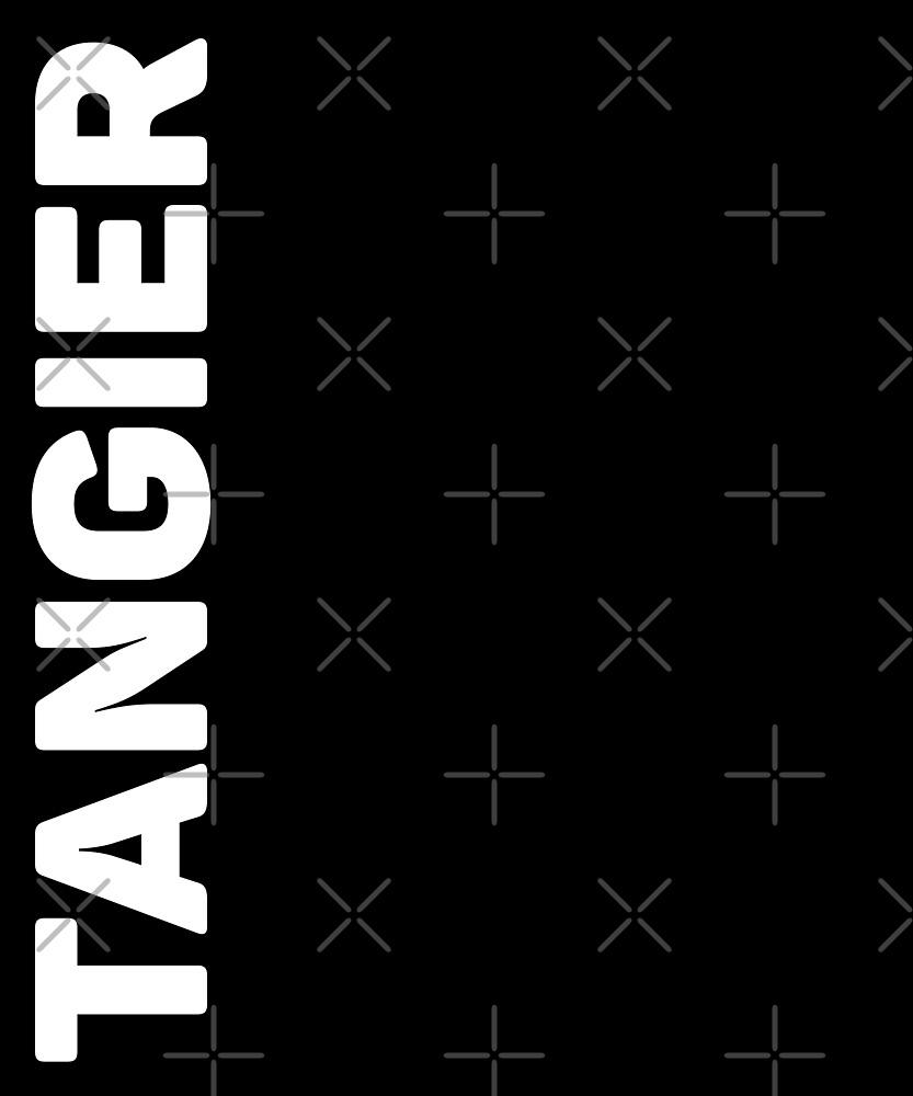 Tangier T-Shirt by designkitsch