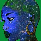 Naturally Bald Woman And Bold Beautify Made Queen by EllenDaisyShop