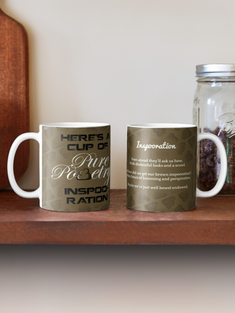 Alternate view of Here's A Cup of Inspooration Mug