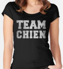 Team Chien Women's Fitted Scoop T-Shirt