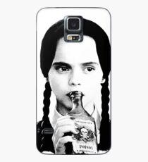 Funda/vinilo para Samsung Galaxy Wednesday Addams | The Addams Family