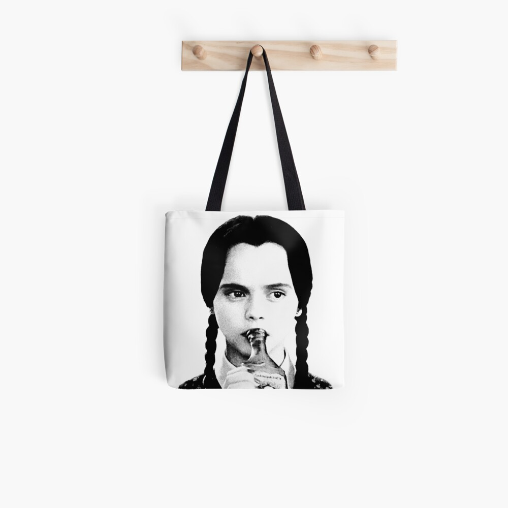 Wednesday Addams   The Addams Family Tote Bag