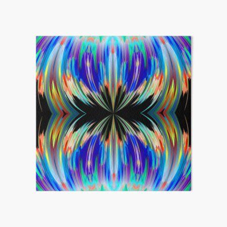 blue abstract klepsydra Art Board Print