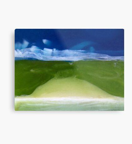 Soaplandscape. II Metal Print