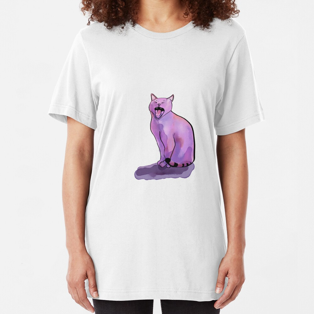 Hungry Cat Slim Fit T-Shirt