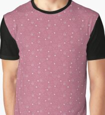A modern pattern with hearts and stars. Graphic T-Shirt