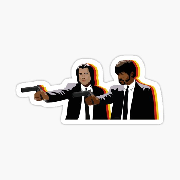 Autocollant Pulp Fiction Sticker