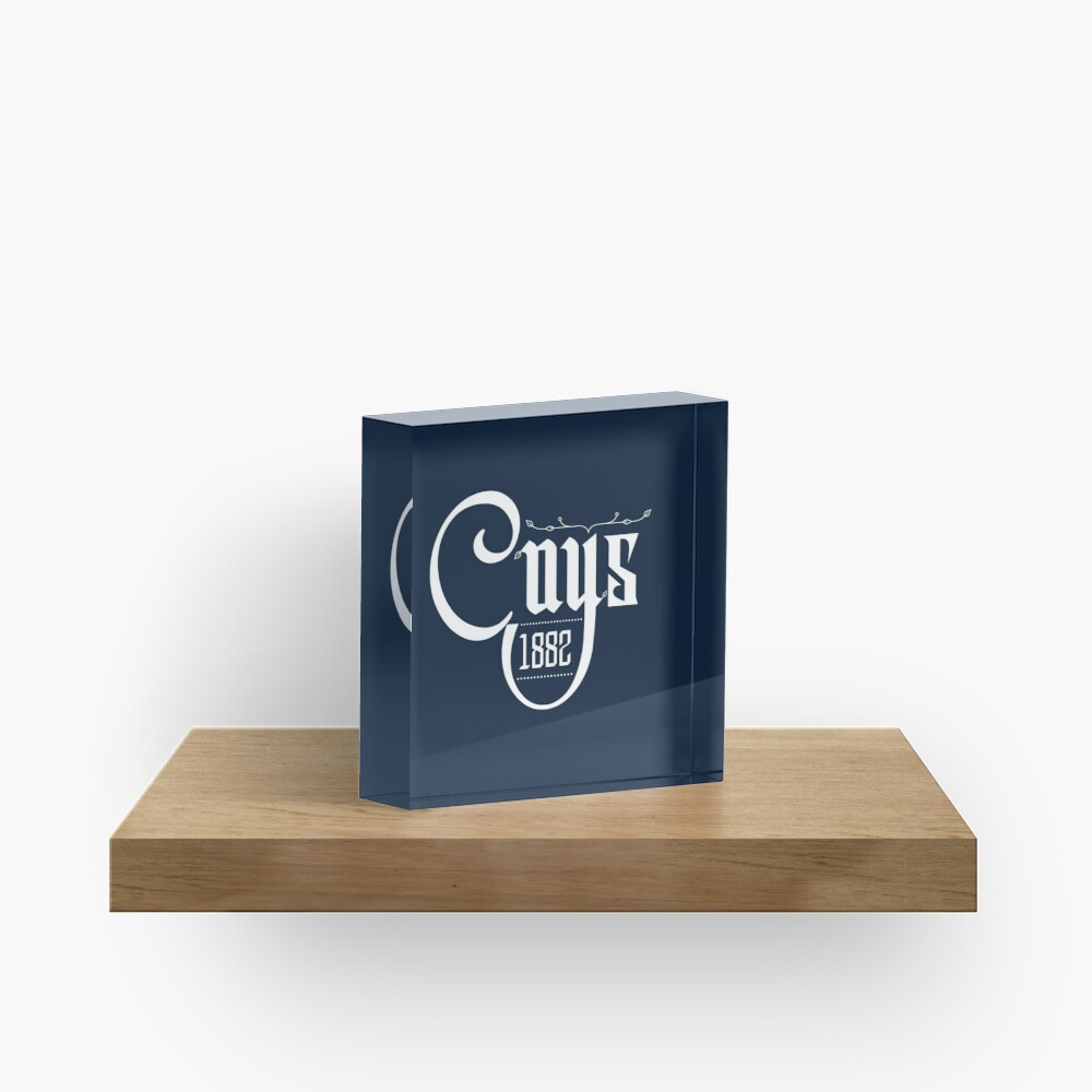 Come on You Spurs 1882 Acrylic Block